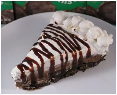 Girl Scout Thin Mint Pie. Going to make this!