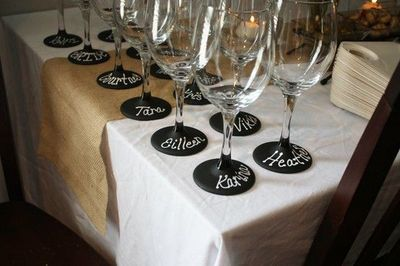 dating old wine glasses