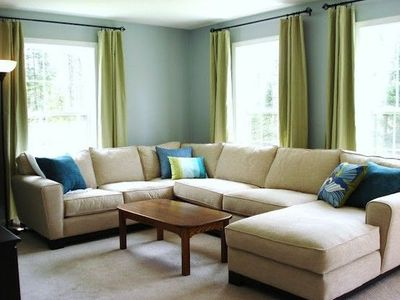 High Quality Blue U0026 Green U0026 Khaki Living Room Part 30