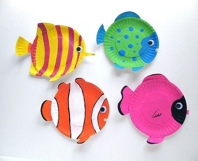 Easy Paper Plate Fish Craft For Kids Fun Party An Under The Sea