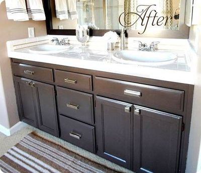 links to lots of bathroom makeovers