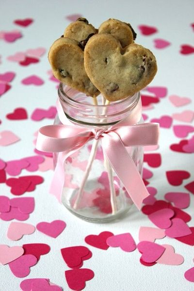 Cookie hearts.