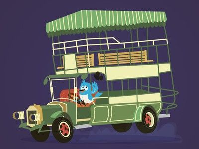 Mr. Blu and the Disneyland Omnibus by Joey Ellis