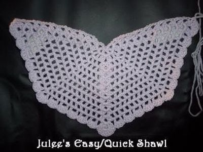 Crochet Pattern Angel Wings : Angel wings crochet shawl / crochet ideas and tips - Juxtapost