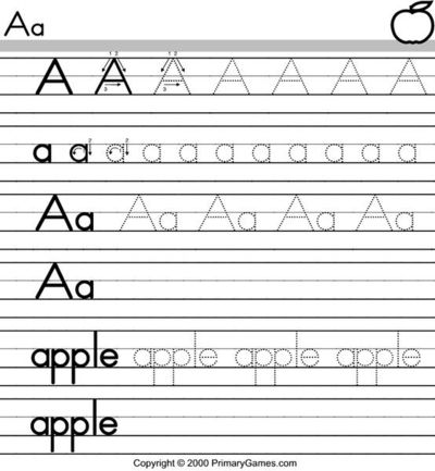 number names worksheets tracing for preschool tracing letters of the alphabet a preschool teachers