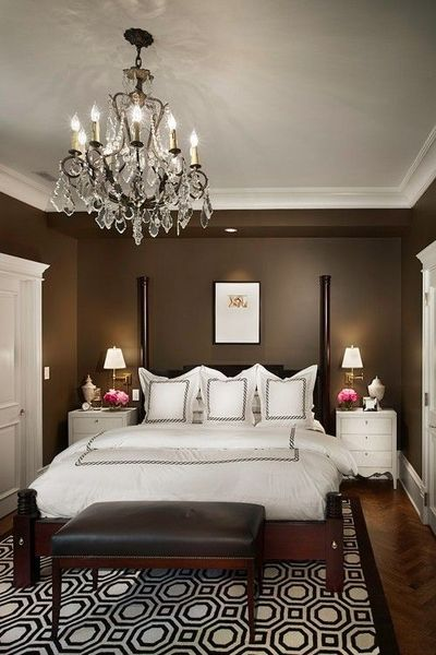 love the chocolate brown walls / For the bedroom - Juxtapost