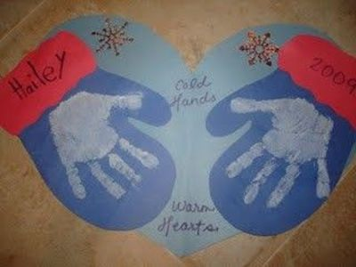 ... craft: Mittens (idea for reading mitten books... Jan Brett, etc
