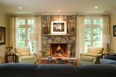 living room layout with fireplace / For the home - Juxtapost