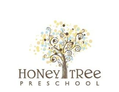 Honey Tree Preschool Logo by 9-Volt Design
