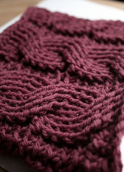 Crocheted cables -- free pattern on Ravelry / crochet ...