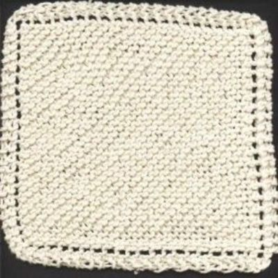 Dish Cloth Knitting Pattern : grandmothers favorite dishcloth pattern / knits and kits - Juxtapost