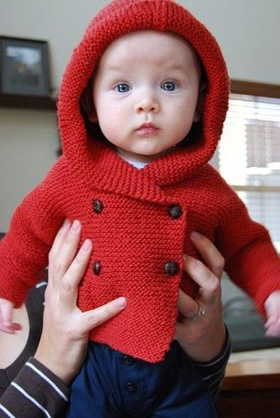 Duffle Coat by Debbie Bliss / knits and kits - Juxtapost