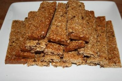 Gluten Free chewy chocolate chip granola bars