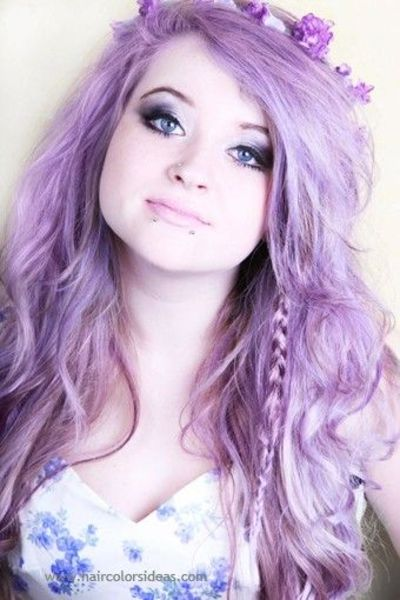gorgeous pastel purple hair / hair tips - Juxtapost
