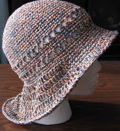 Free Crochet Fireman Style Brim Hat Pattern Crochet Ideas And