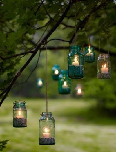 Lighting For Backyard Party : Charming garden party lighting  For my backyard  Juxtapost