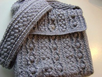 The Bobbling Along Aran Tote Amazing Crochet Cables Patte