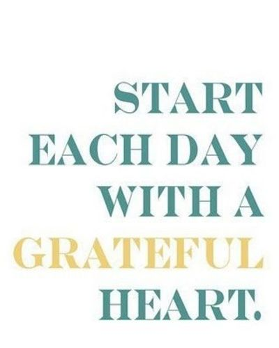 start each day with a grateful heart inspiring quotes