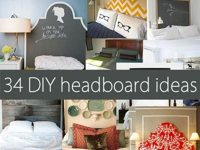 34 DIY headboard ideas!!