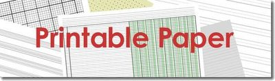 All kinds of printable paper