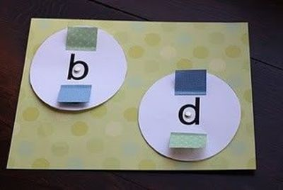 helping kids learn b, d, p and q--they are tough to tell apart when you're little!