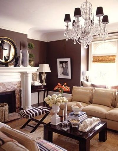 Love the stool in front of the fireplace - would work perfec ...