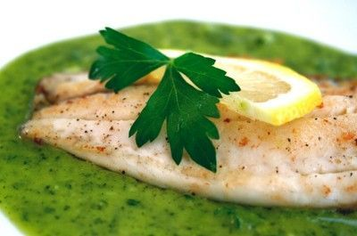 Fish with Parsley Lemon Sauce / recipes, entrees, food ideas ...