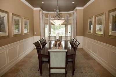 Wall color the dark brown ceiling looks nice not that we - What you need to paint a room ...