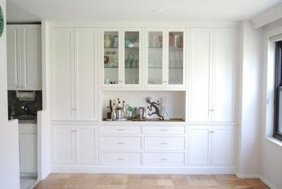 Built In Wall Cabinets For Dining Room For My Kitchen