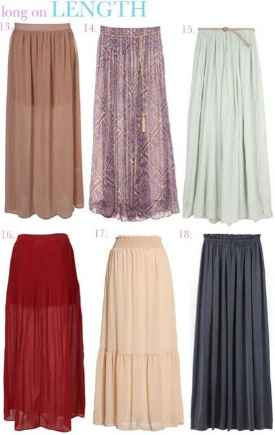 A beautiful long flowy maxi skirt that is flattering and stylish yet comfortable. It features pockets and high waist with elastic waistline JavaScript /5(K).