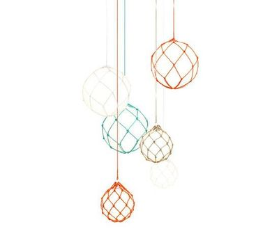 �€˜Fisherman' pendant light by Mattias Ståhlbom for Zero (SE)