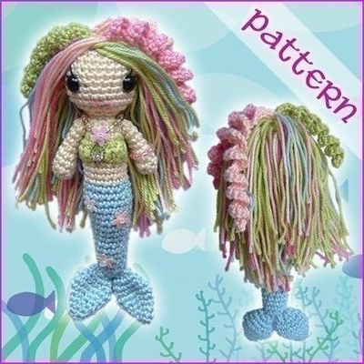 Pictures - Mermaid Body, Crochet Patterns - Tampa Bay
