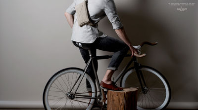 hard graft / Personal Pouch / Driftwood