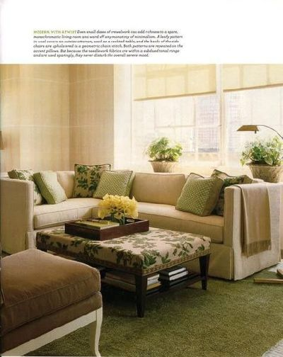 Sage Green And Yellow Living Room For The Home Juxtapost