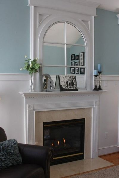 Arched Mirror Over Fireplace Home Decorating Juxtapost