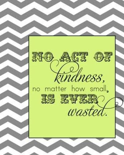 Kindness quote- free printable