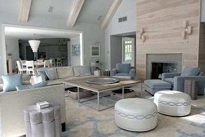 Light White Washed Fireplace White Washed Beams For The