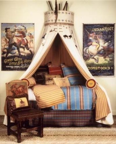 amazing tee-pee canopy for boys bed. & amazing tee-pee canopy for boys bed. / For the bedroom - Juxtapost