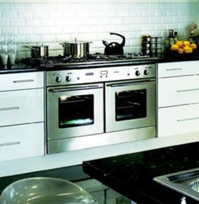 Double Oven Side By Electric Range