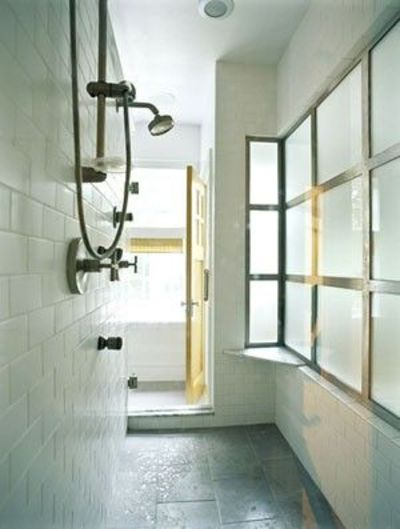 Walk through shower bath ideas juxtapost for Walk through shower to tub