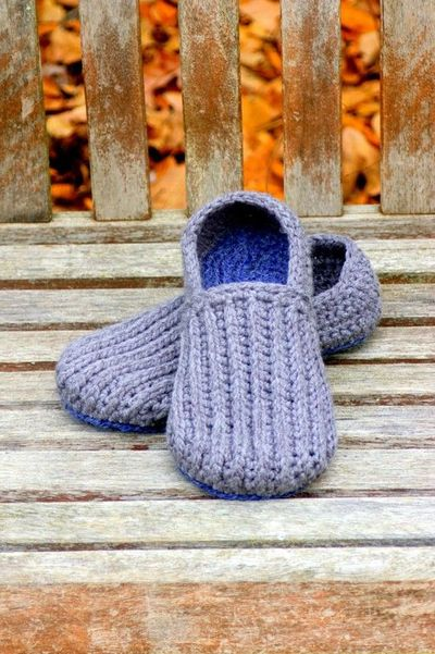 Crochet Pattern Mens House Slippers Pattern Crochet Tutorials