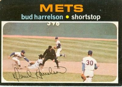 Bud Harrelson: A young shortstop's role model.