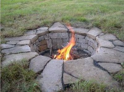 Recessed Fire Pit For My Backyard Juxtapost