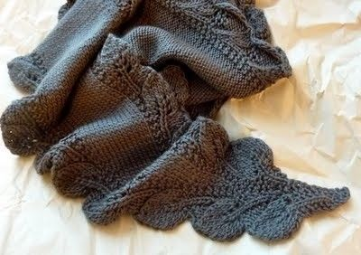 Double Leaf Saroyan Scarf Pattern Free From Ravelry Knits And