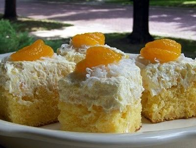 Hawaiian Dream Cake, Chilled pineapple cake