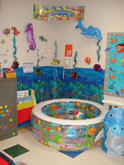 Reading Corner Inflatable Pool This Classroom Is Entire School Plan