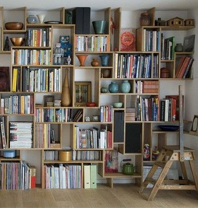 Diy Bookshelf Wall For The Home Juxtapost