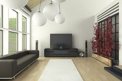 Minimalist Japanese inspired living room / For the home ...