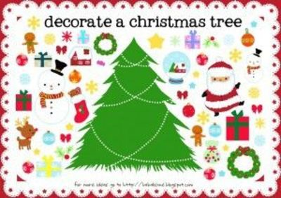 photograph relating to Free Printable Christmas Activities known as 10 cost-free printable Xmas pursuits / Preschool solutions