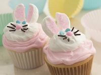 Cute Bunny Cupcakes- easy too!